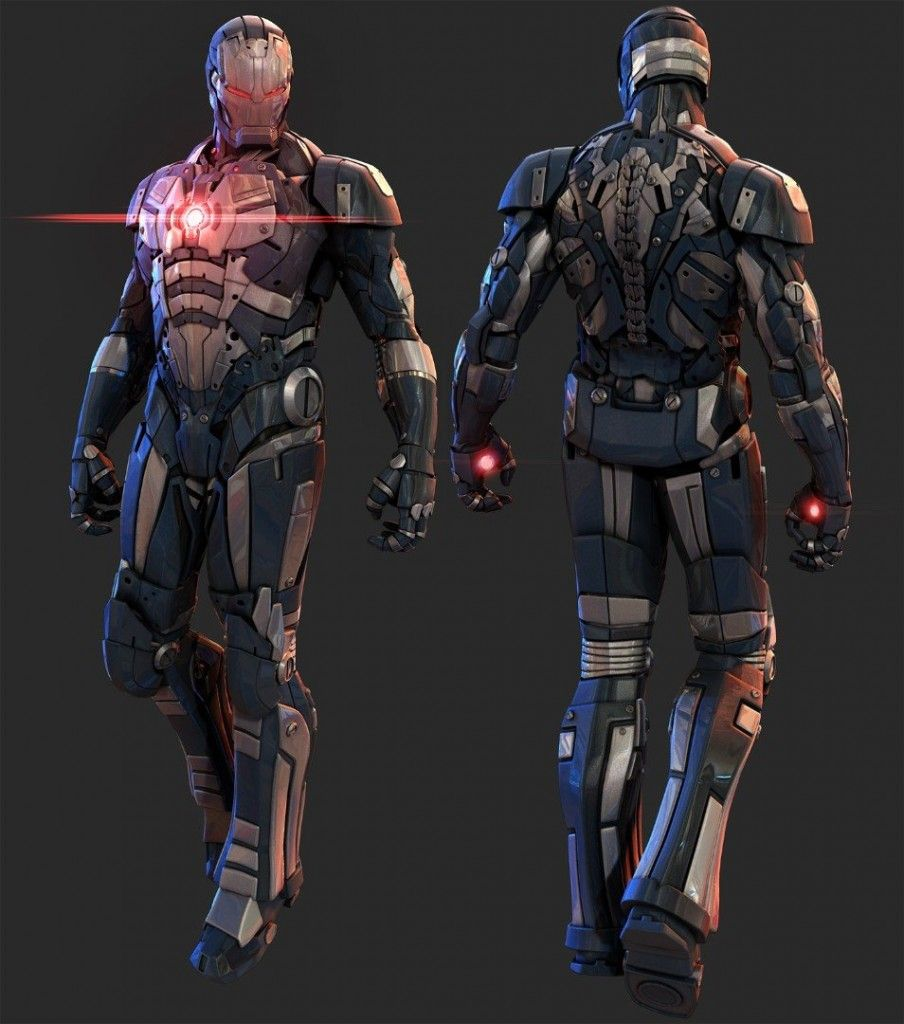Slick IRON MAN Armor Designs by Mars2 (1) | Armor Design ...