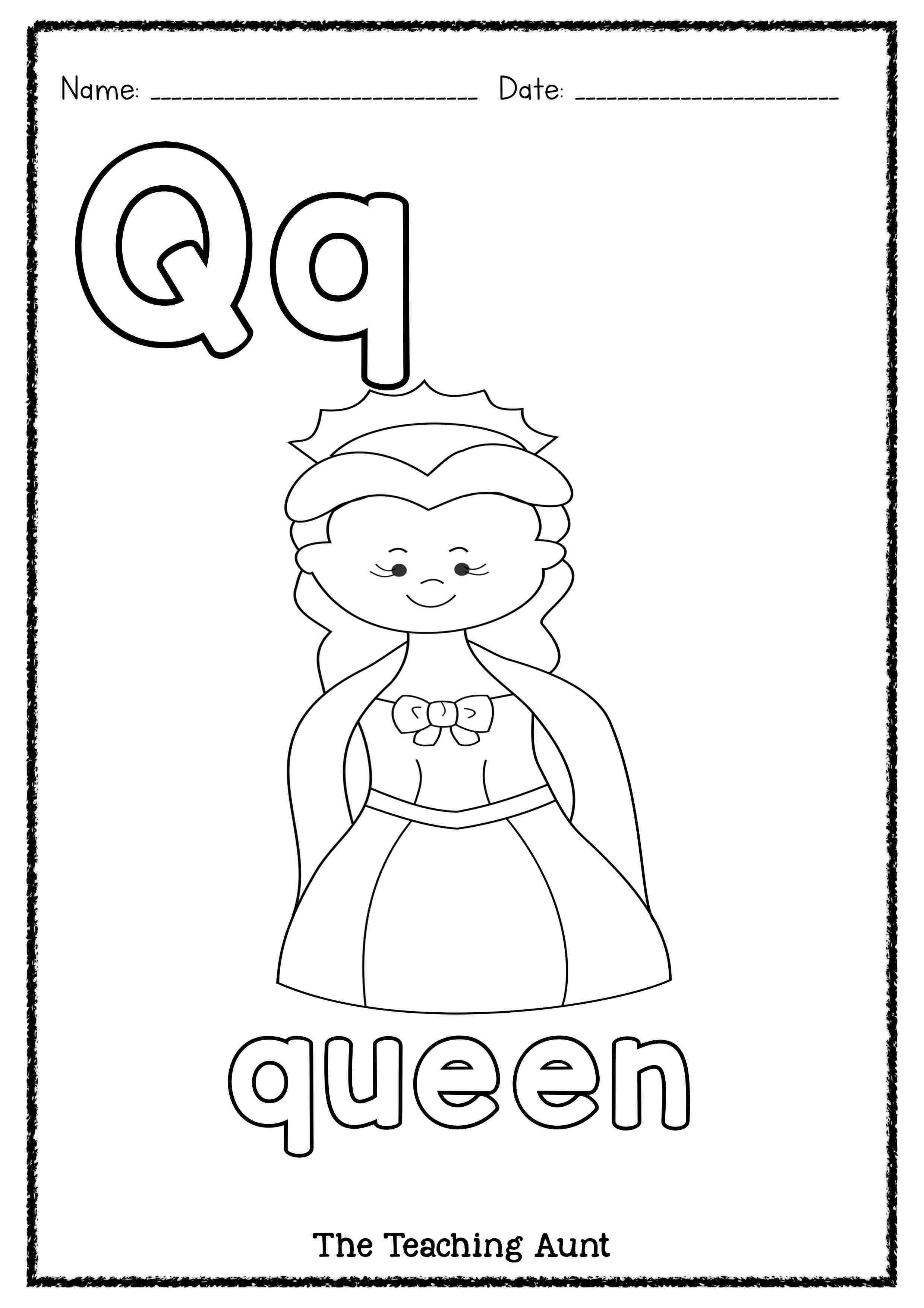 Q Is For Queen Art And Craft