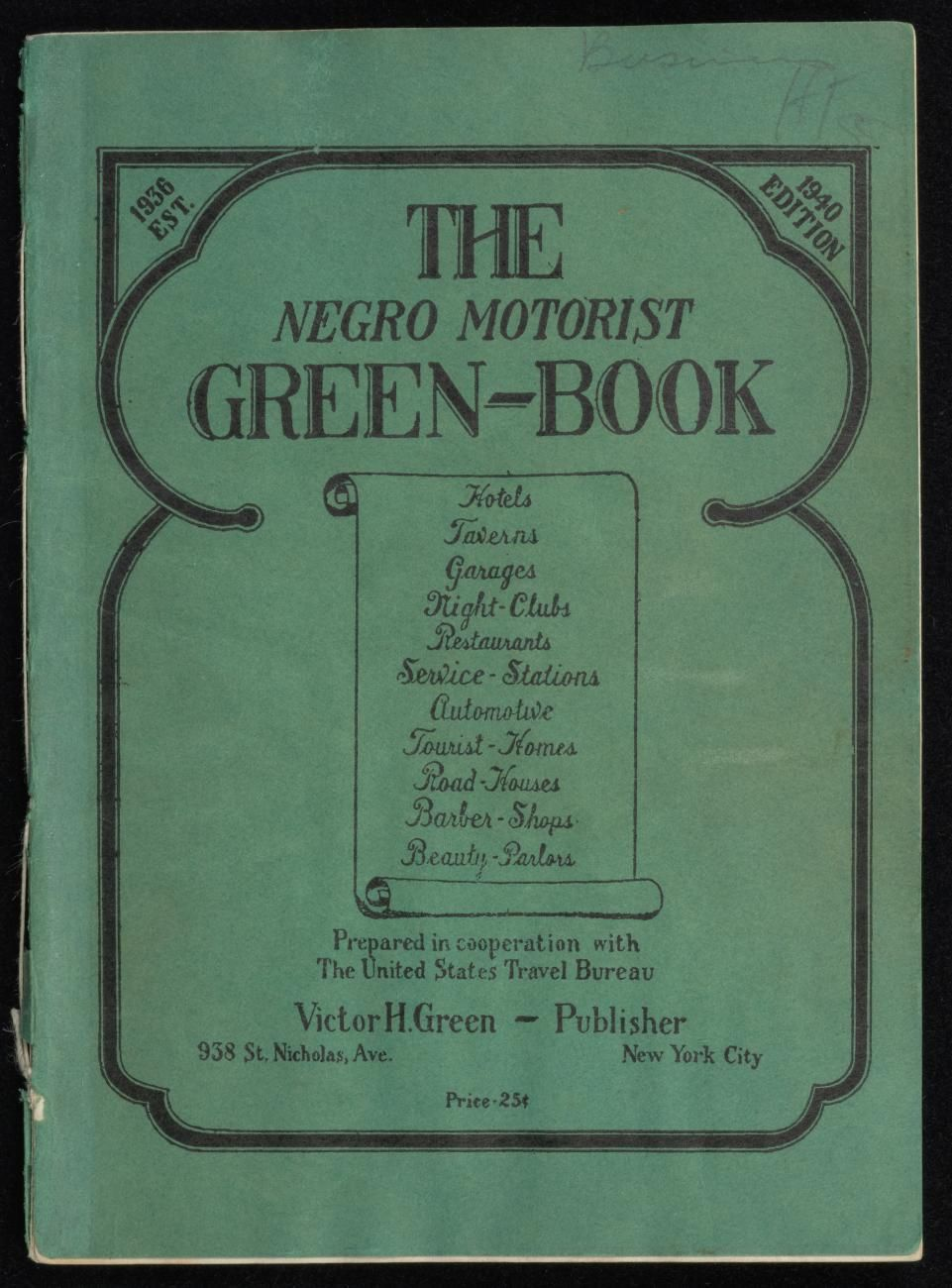 How a little green book saved black lives on the road