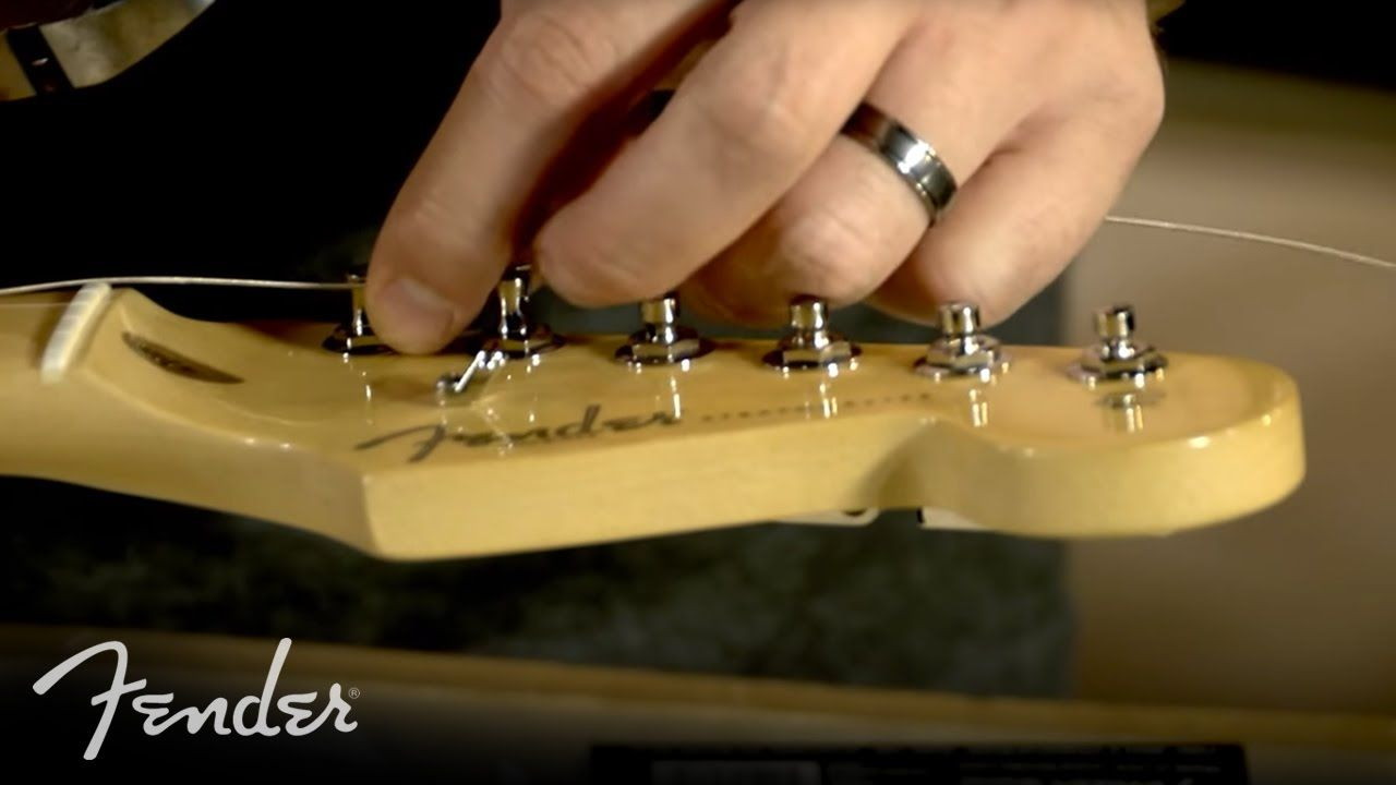 How to change your electric guitar strings electric