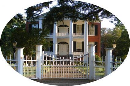 Rosalie antebellum mansion