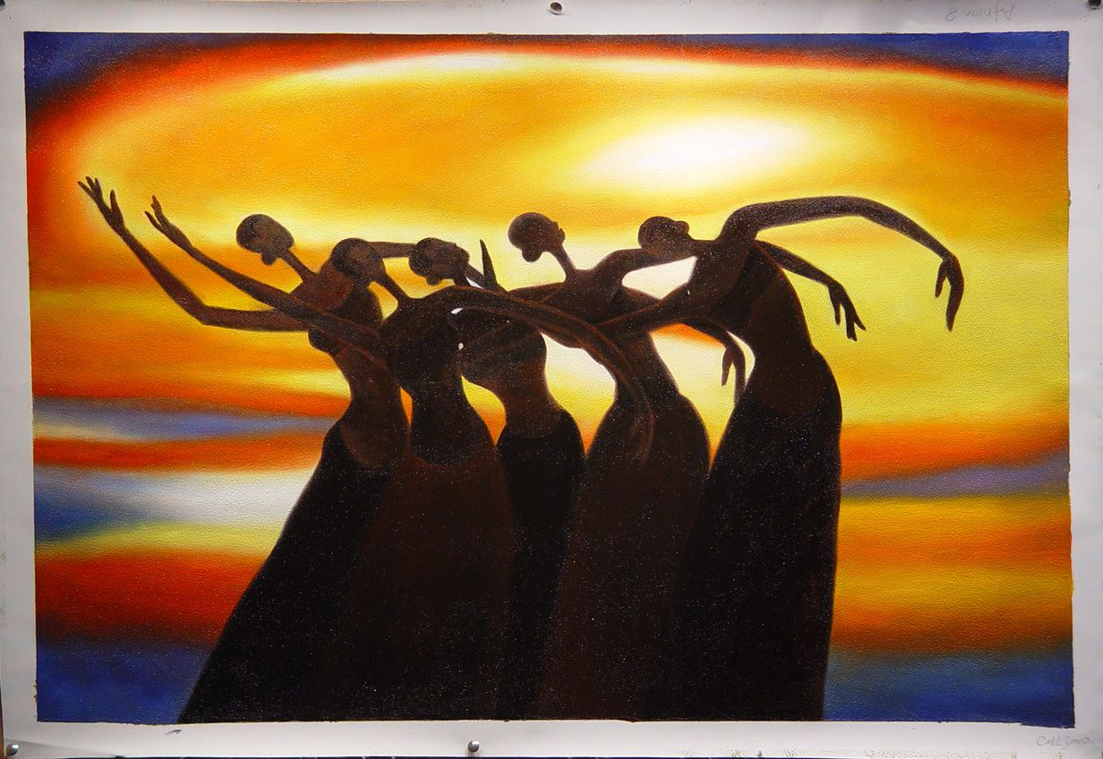 African American Art Posters | black art, african american arts, oil ...
