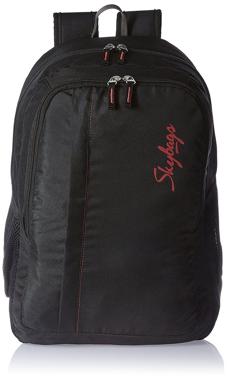 e74e953e54 Skybags 27 Ltrs Black Casual Backpack (LPBPSPABLK)- 12