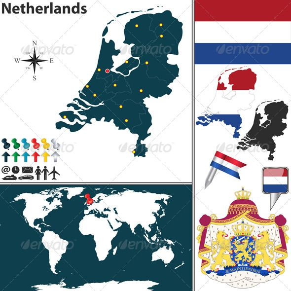 Map of Netherlands   Netherlands, Holland and Buy maps