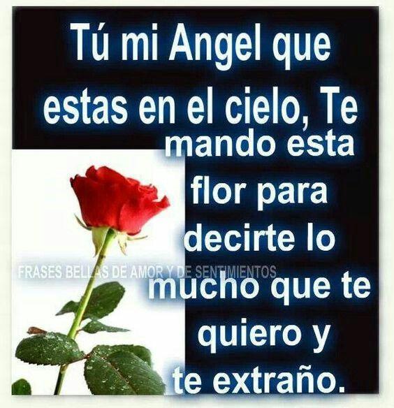 Tu Mi ángel Favorito Frases Para Mama Frases Que Duelen