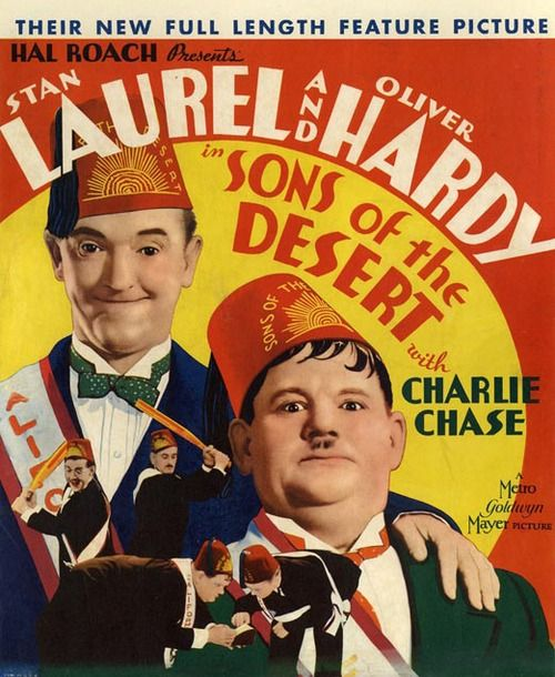 Sons of the Desert (1933) Laurel & Hardy https://www.youtube.com/user/PopcornCinemaShow
