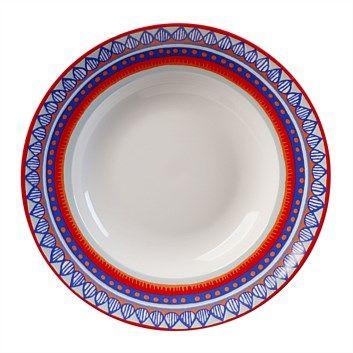 Briscoes - Oilily Pasta Plate Blue 24cm  sc 1 st  Pinterest & Briscoes - Oilily Pasta Plate Blue 24cm | Dinner Plates | Pinterest ...