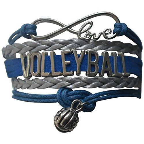 Volleyball Bracelet Girls Volleyball Jewelry 5 Colors Perfect Volleyball Gifts For Players Volleyball Jewelry Volleyball Gifts Volleyball Necklace