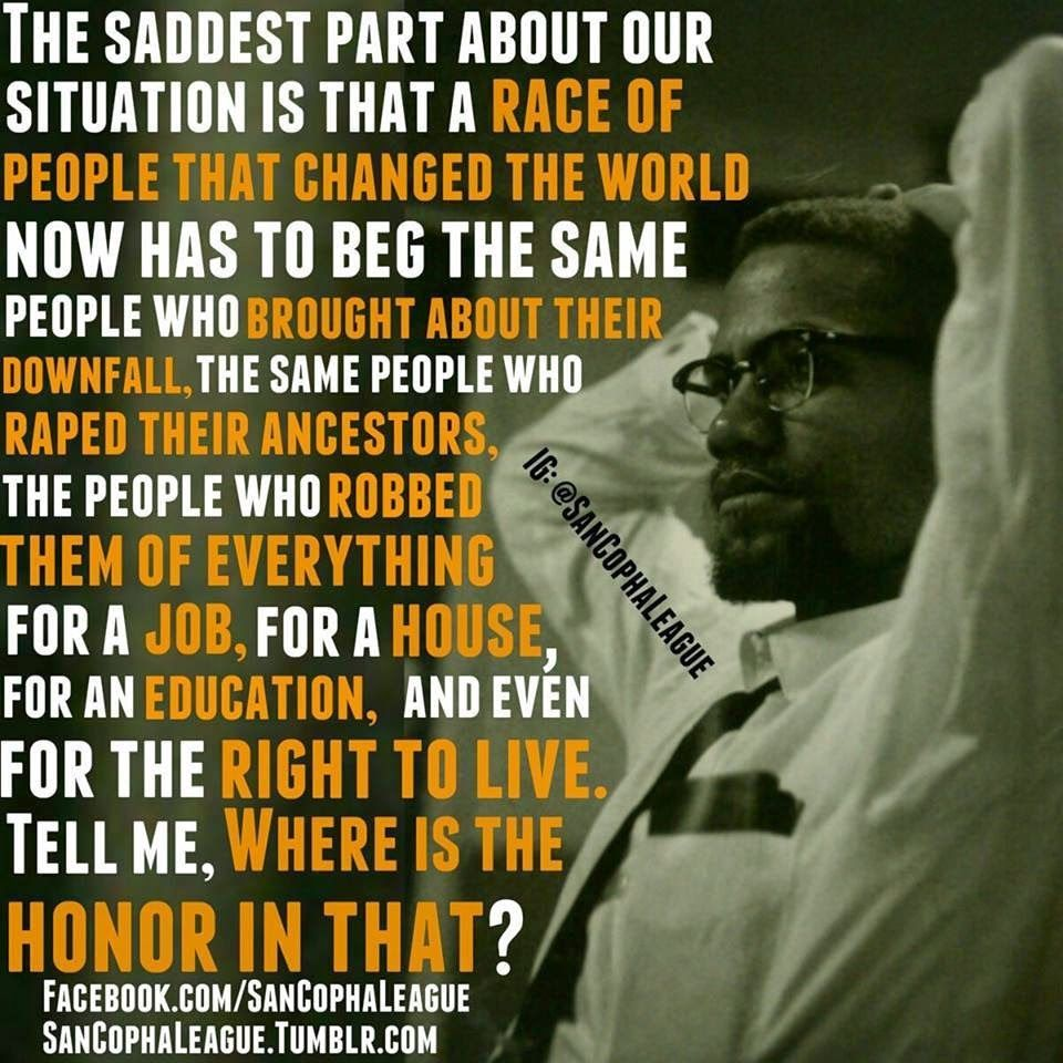BUILDING A NEW BLACK NATION: MALCOLM X - THE BALLOT or THE BULLET