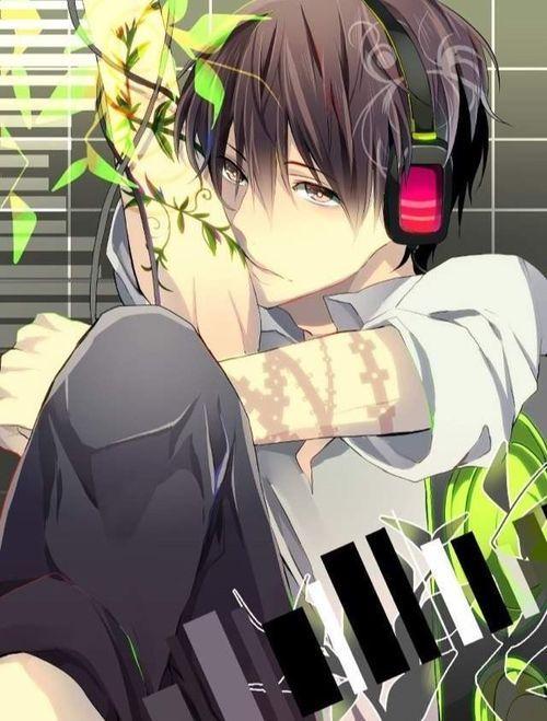 Windy Sky Ami Anime Anime Boy Anime Boy With Headphones