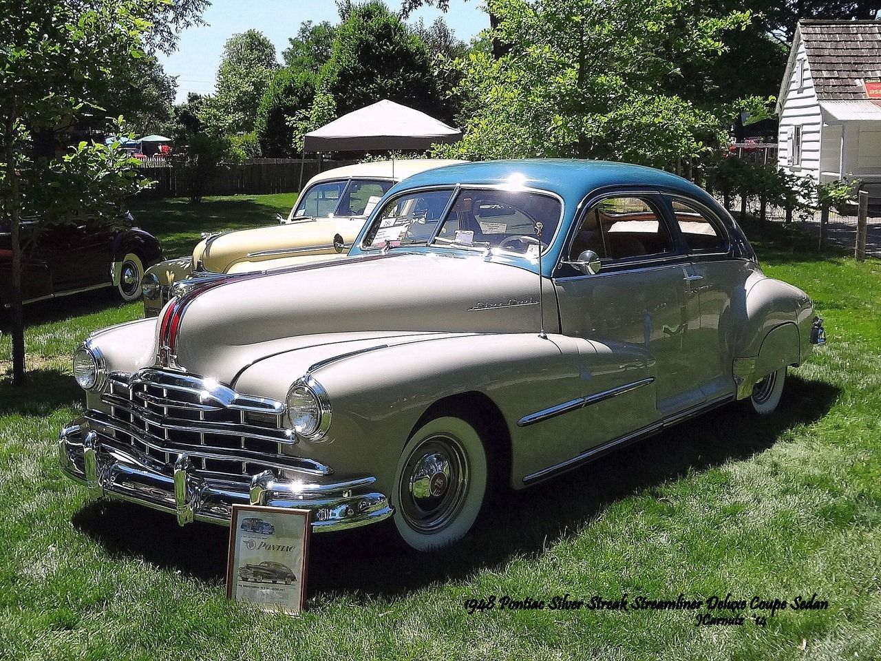 1948 pontiac silver streak streamliner deluxe coupe sedan 2014
