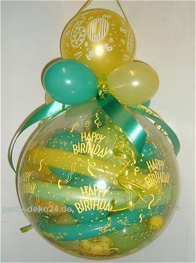 Luftballon verpackung hannover cumplea os adulto Deko shop hannover