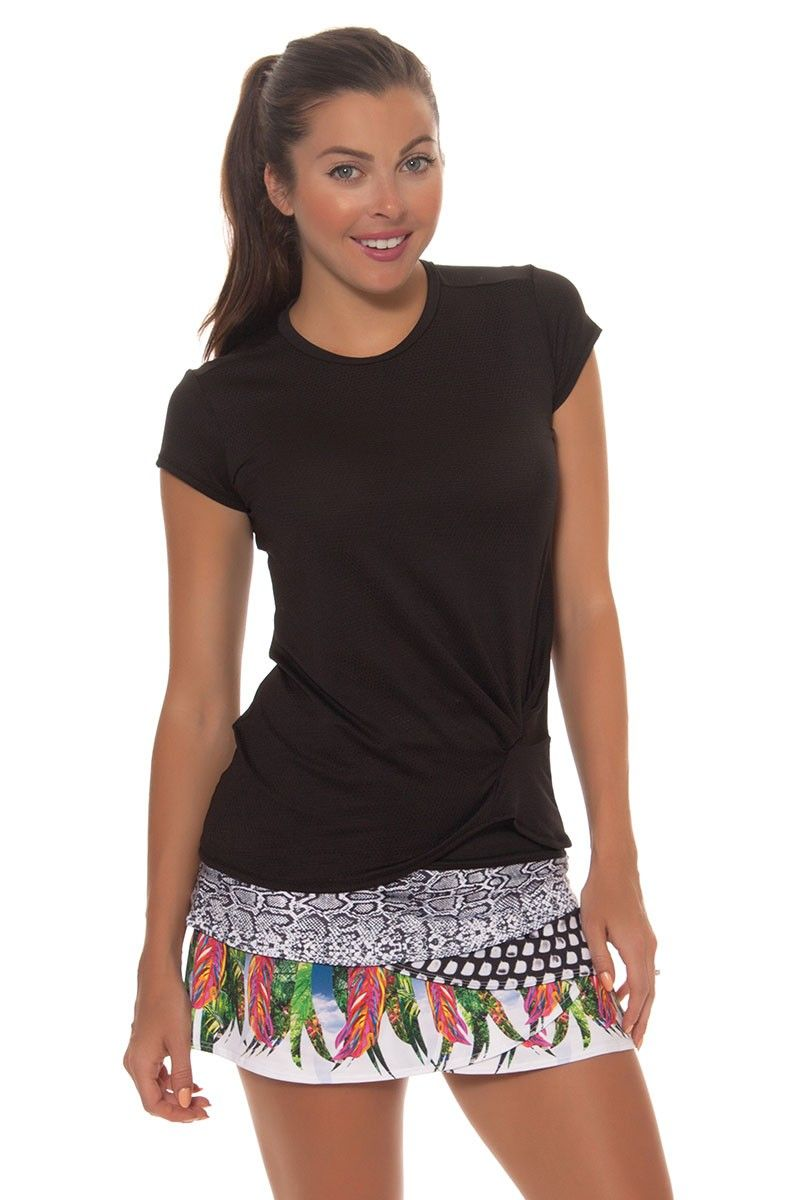 9941f0f71d9 ANIMAL INTUITION SCALLOP TENNIS SKIRT