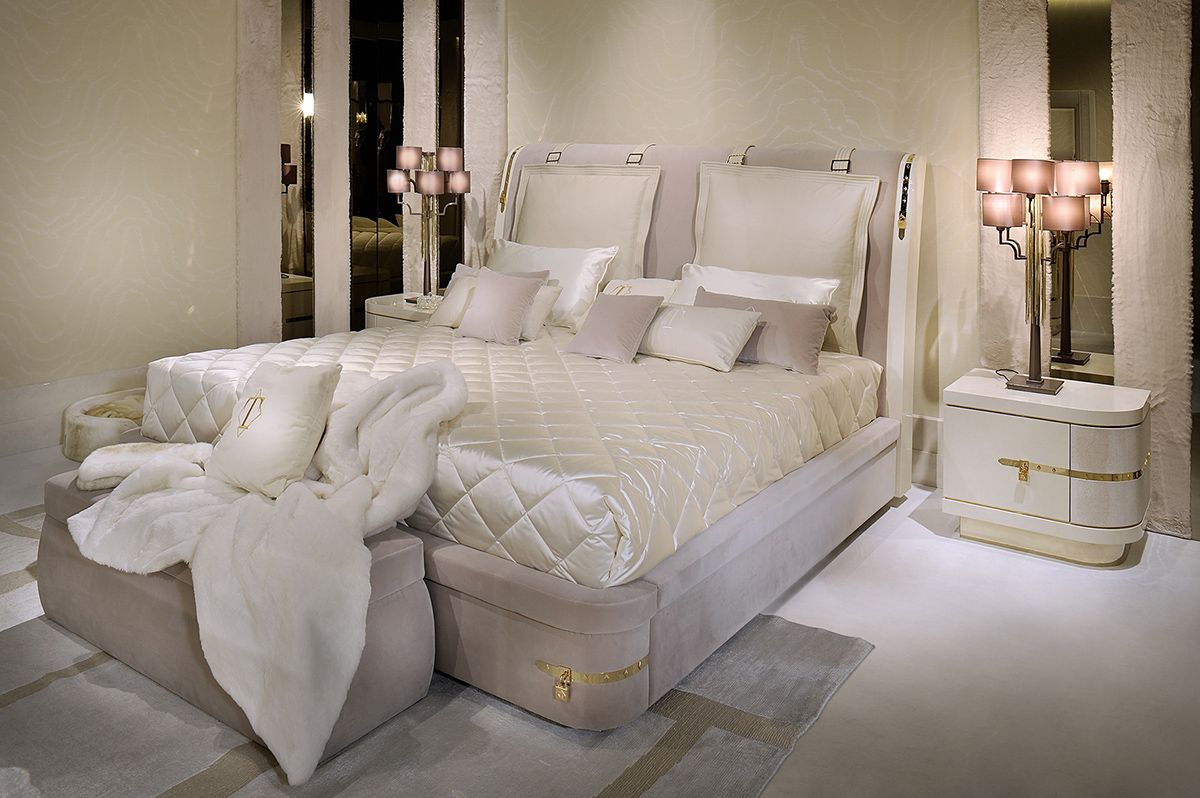Diamond Bedroom Furniture Set By Rossetto