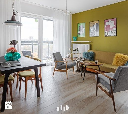 Salon styl Vintage - zdjęcie od DZIURDZIAprojekt