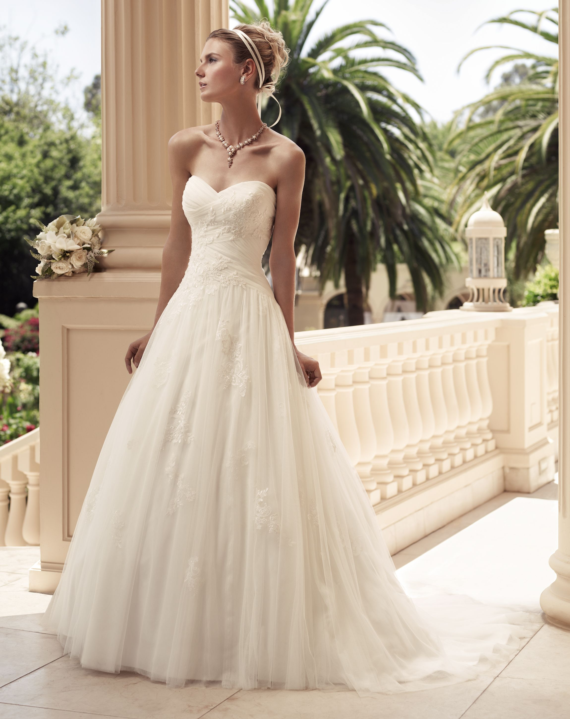Visit us today to try on this beautiful casablanca bridal