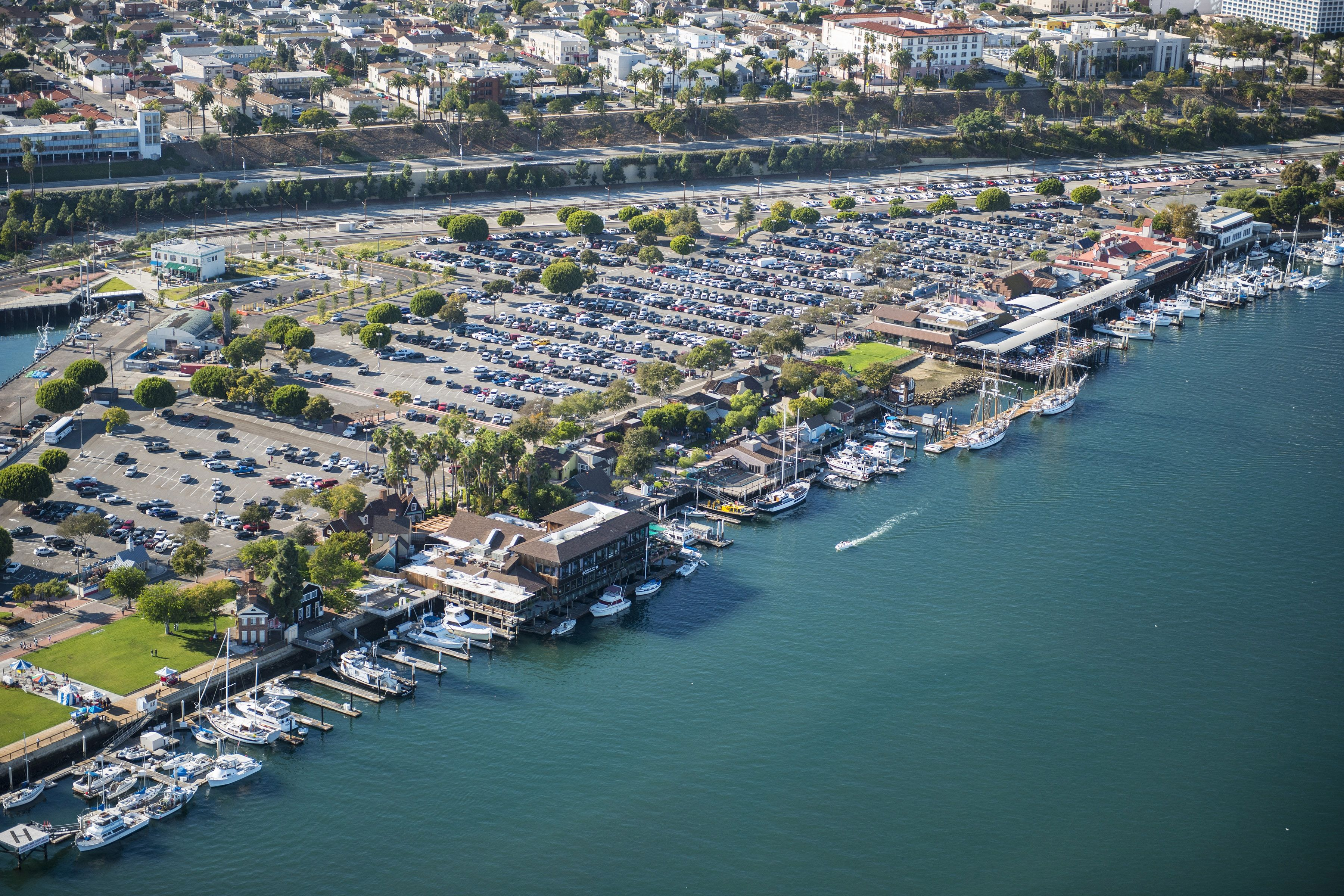 Ports O Call Located In San Pedro California