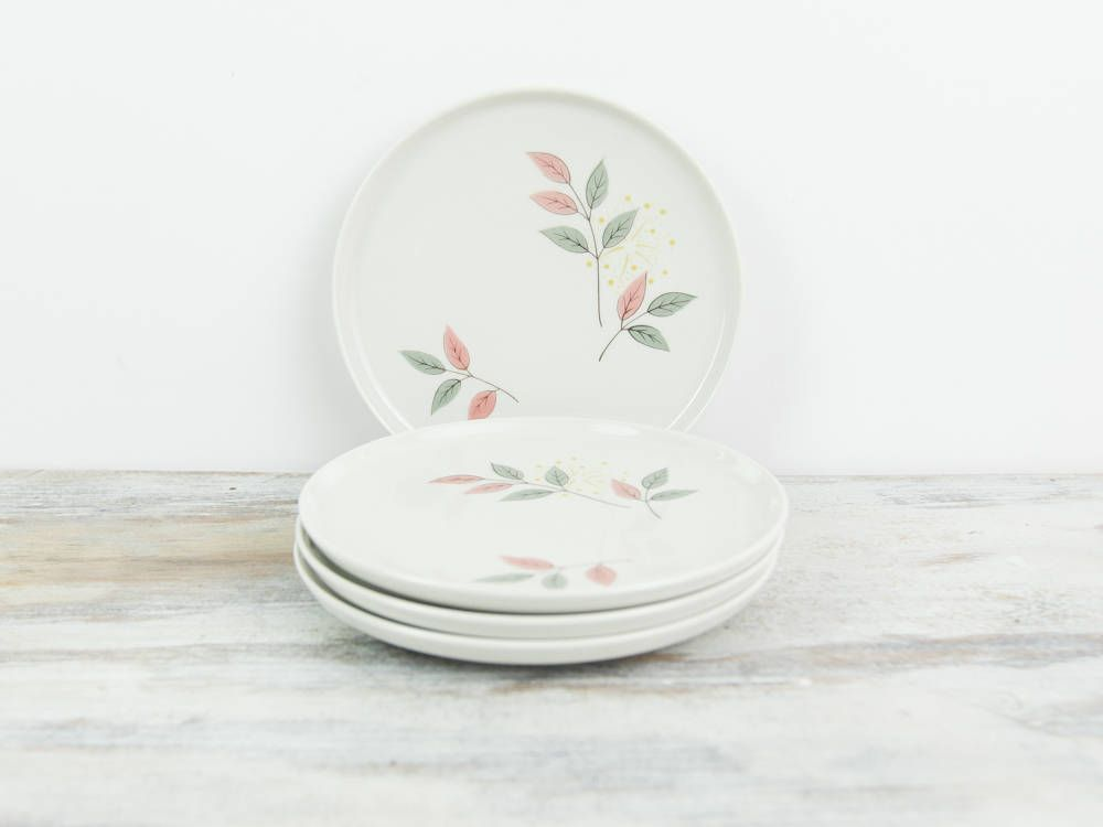 Vintage Franciscan Springsong 1950s Dinnerware Bread and Butter Plates Replacement China (set of & Vintage Franciscan Springsong 1950s Dinnerware Bread and Butter ...