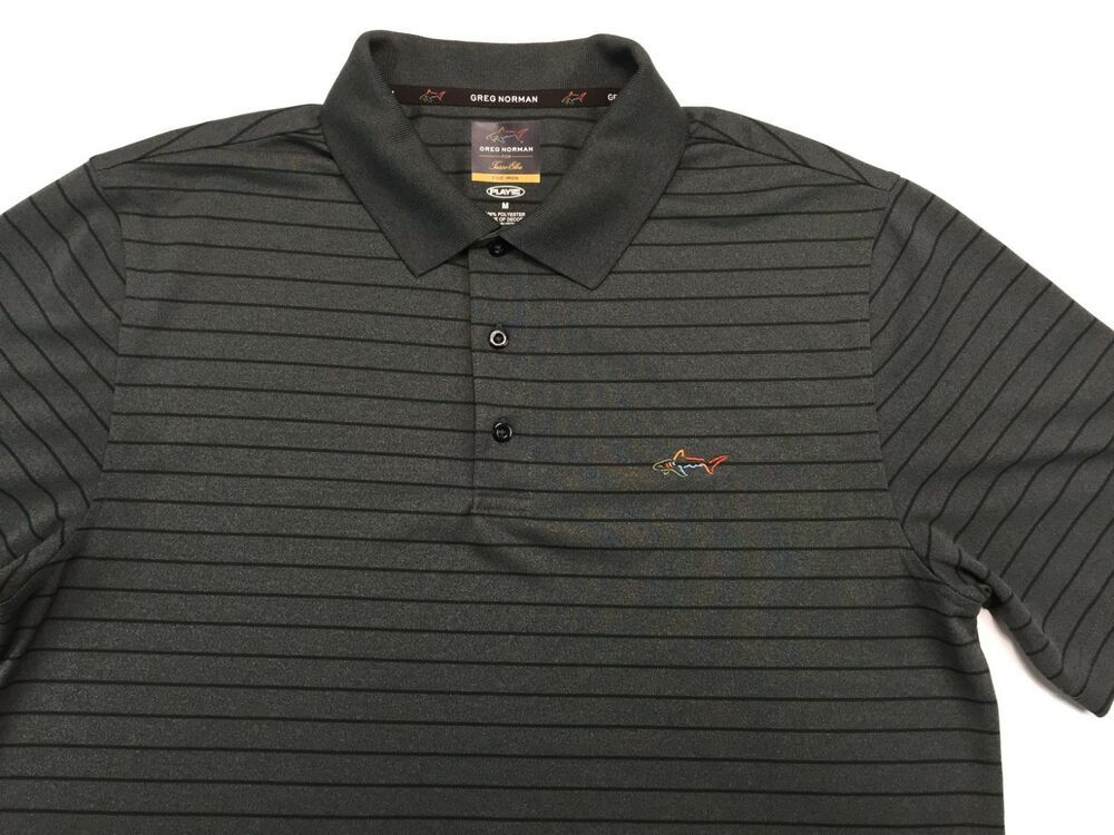 Greg Norman Mens Play Dry Rugby Polo Shirt