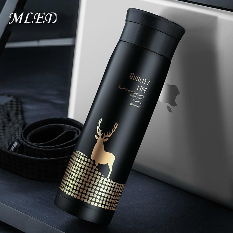 00832cf56c6 450ML Deer Thermos Cup Thermo Mug Vacuum Cup Travel Thermocup Stainless  Steel Bottle Thermal Bottle Insulated Tumbler Men Gift. Yesterday's price:  US $28.99 ...
