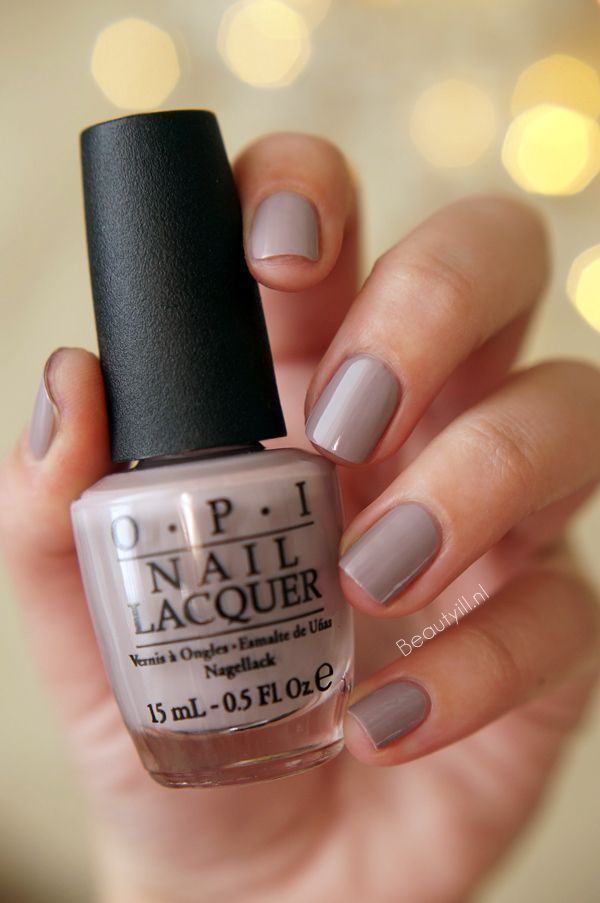 Opi Brazil Collection Taupe Less Beach