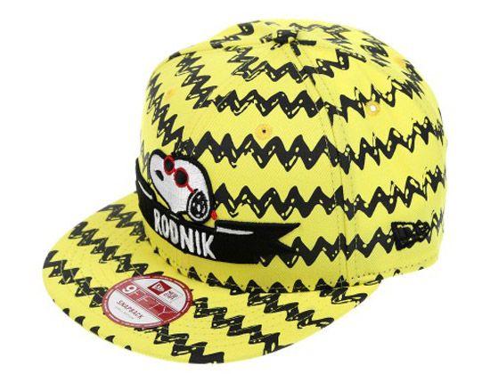 Charlie Brown 9Fifty Snapback Cap by RODNIK x PEANUTS  a536c7d52786
