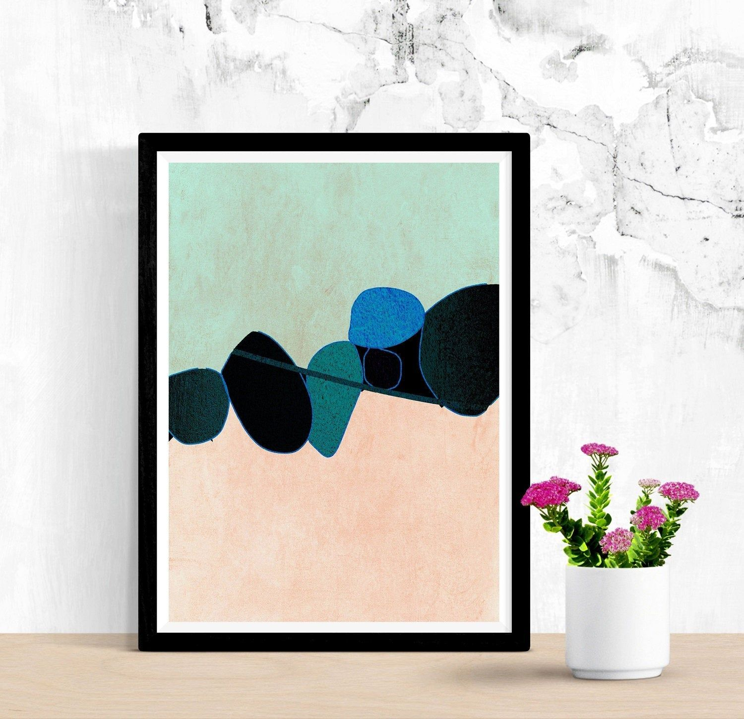 Printable Art Large abstract painting Neutral Art Large abstract beige minimalist wall art 60 x 40 print download Roberto Moro Art