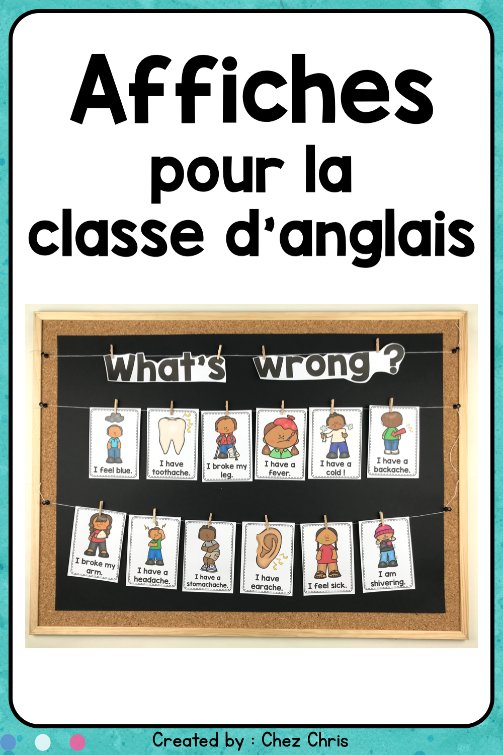 What S Wrong Health Problems Posters Teaching English Feeling Sick Esl Teaching Resources