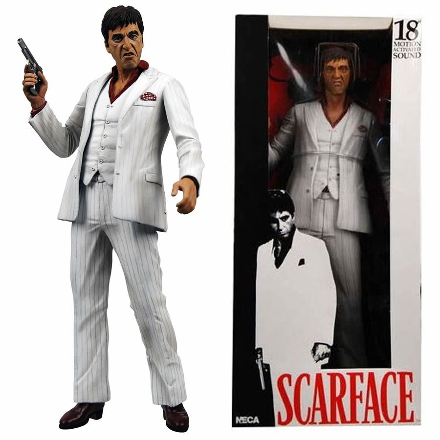 Scarface dress in santa suit images