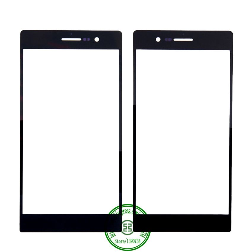 >> Click to Buy << TOP Qualirty Black white Front Outer Glass Lens Touch Screen Panel For Huawei Ascend P7 Free shipping #Affiliate