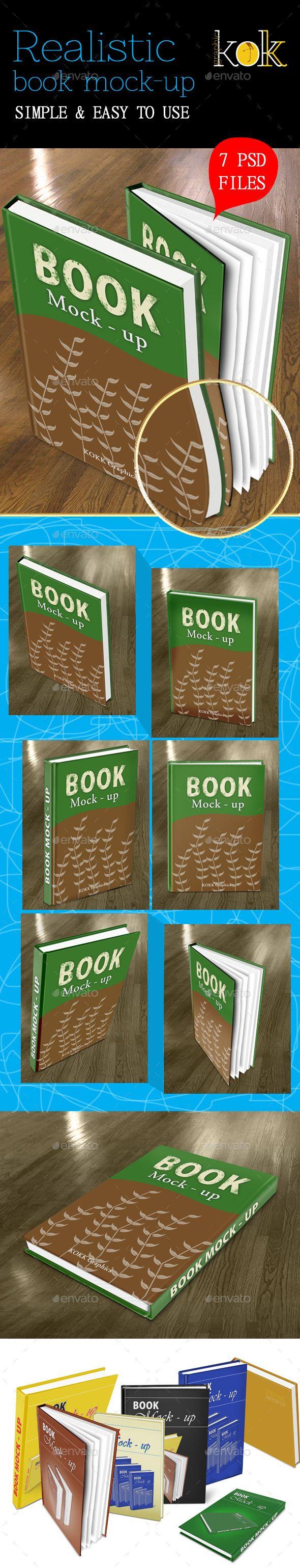 Realistic Book MockUp Mockup, Realistic, Box mockup