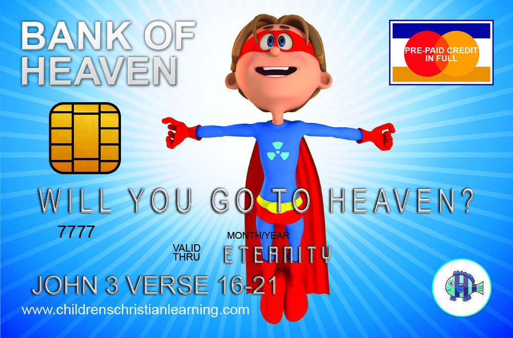 Our Super Duper Cool Credit Card Gospel Tracts For Free We All