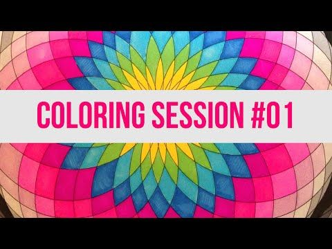 Coloring Book For Adults Meditation Session 03