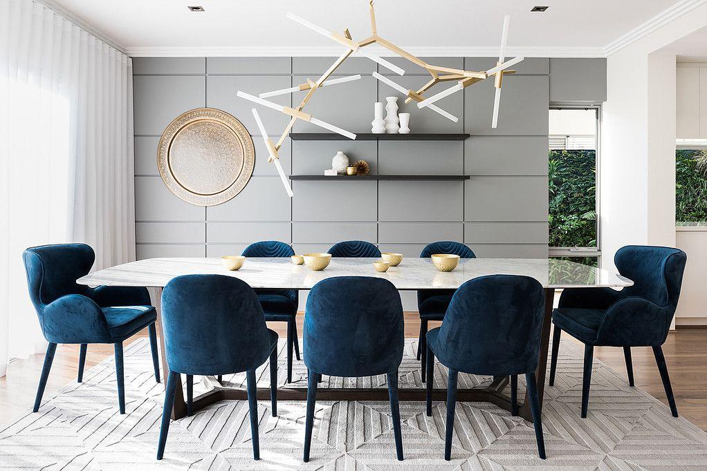 Nickolas Gurtler Applecross Dining Room Small Elegant Dining