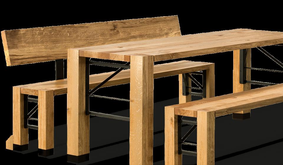 Design Garnitur Rustikale Gartenmobel Bartisch Rustikal
