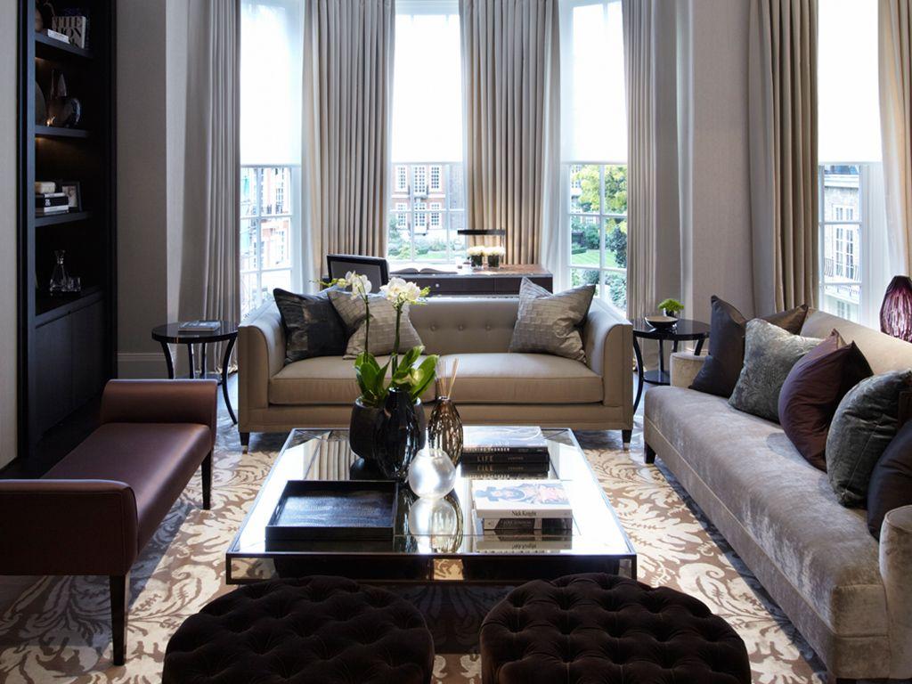 Delightful Park Lane Apartment, London | Louise Bradley| Interior Design