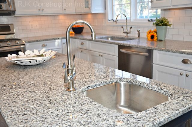 Our Granite Azul Platino And White