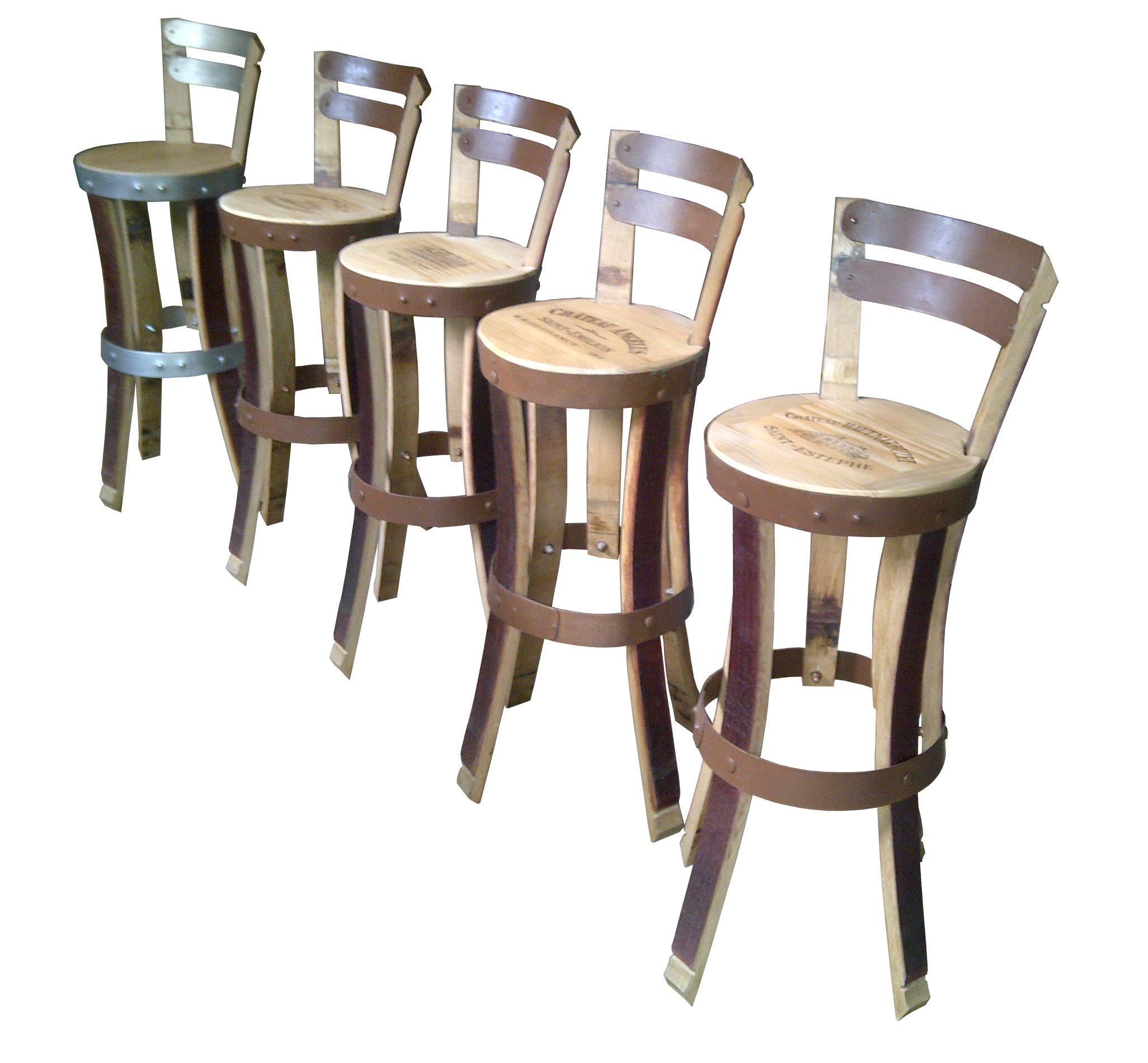 Chaise Haute De Bar Barrel S Furniture Hight Chair Chaise De Bar Realise En Douelle E Tonneaux M Wine Barrel Chairs Wine Crate Table Wine Barrel Furniture