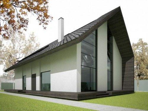 Simple Minimalist House Design On Narrow Land