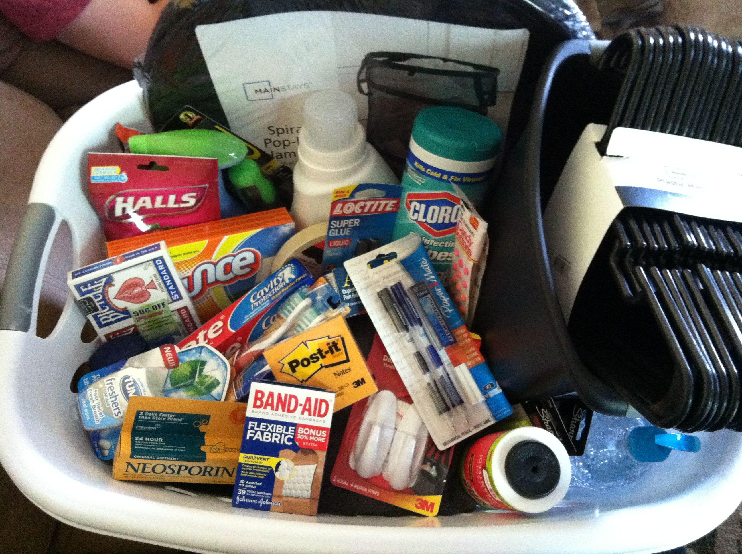 High School Graduation Gift Dorm Room Essentials Laundry