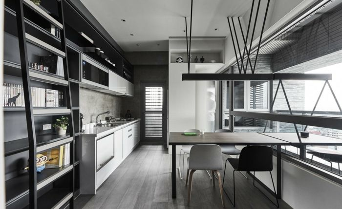 ▷ 1001 + Ideen für Wandgestaltung Küche zum Entlehnen