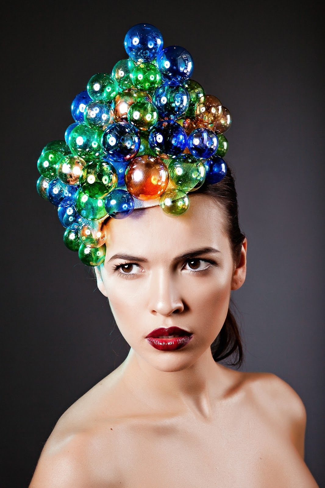"""Bubble Head Dreamer"" hat ... different."