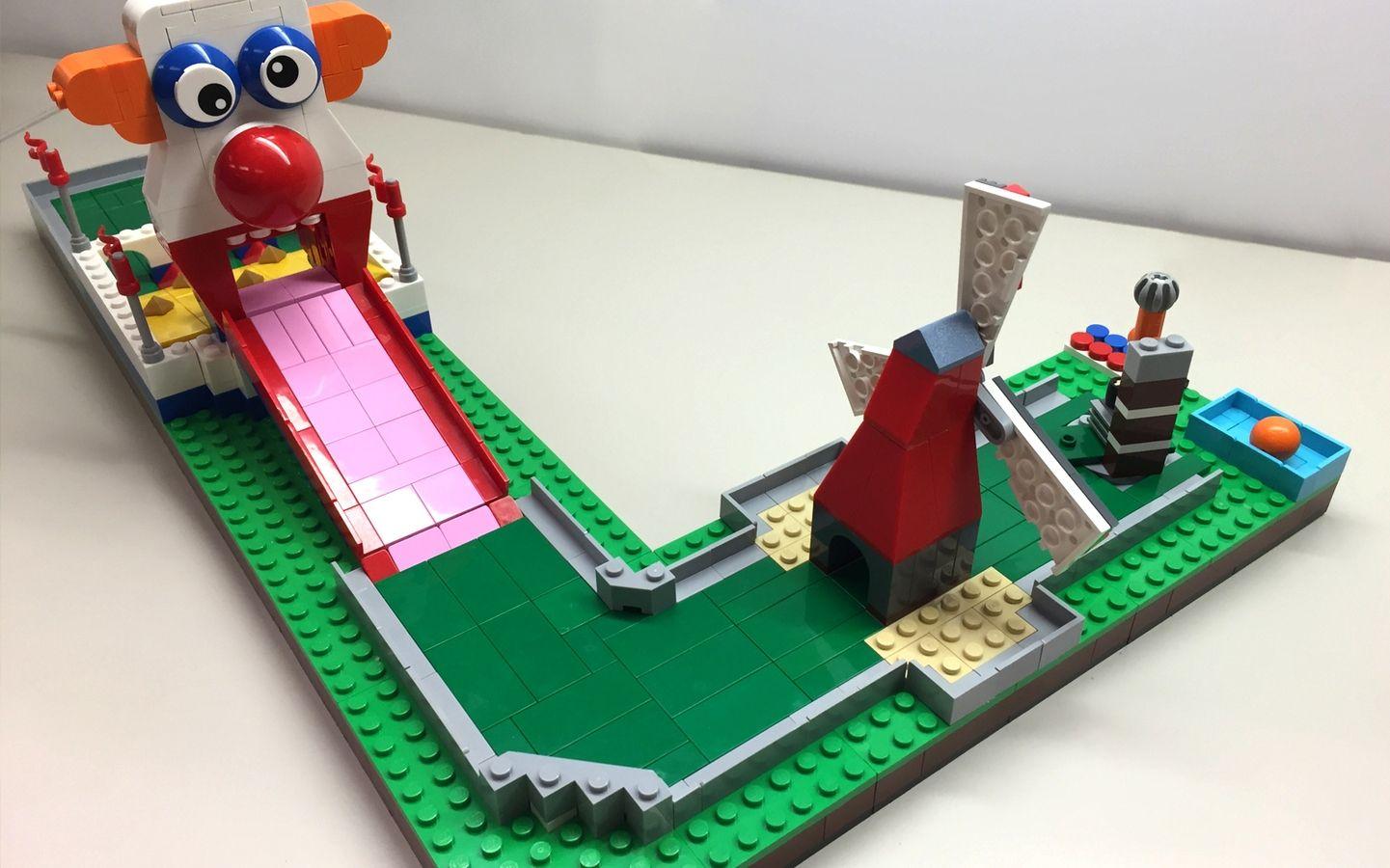 Lego mini golf lego challenge cool lego creations lego