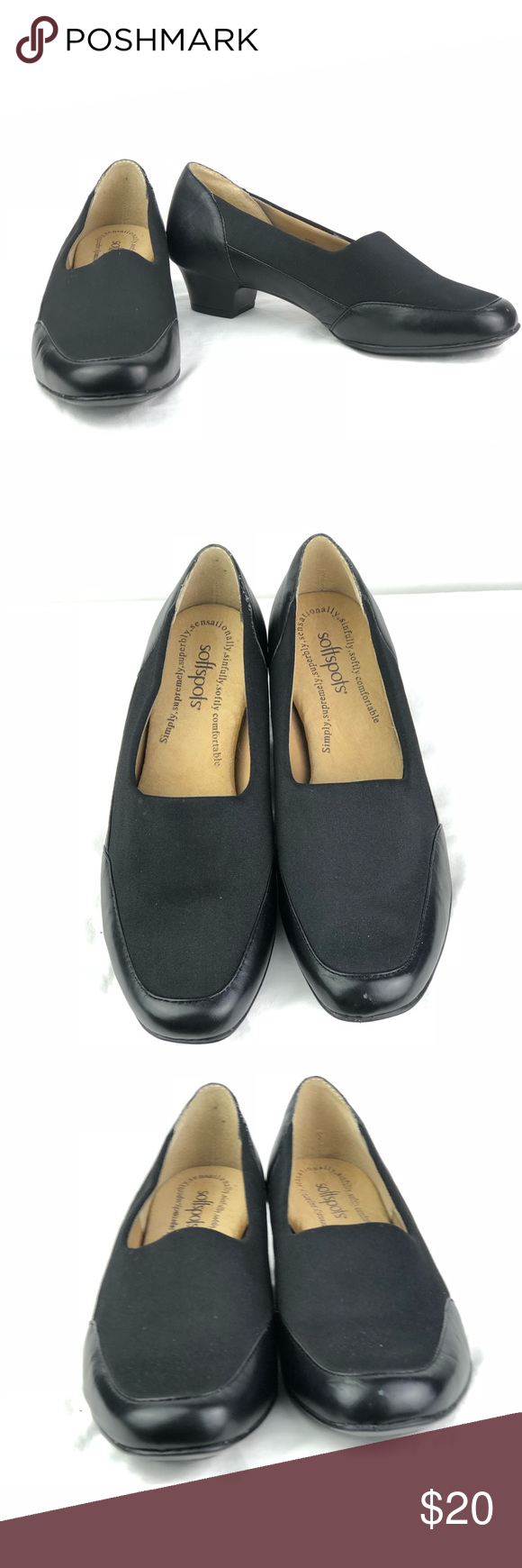74a80b8ee4 Soft spots black pump size 7 Soft spots black pump size 7 Softspots Shoes  Flats   Loafers