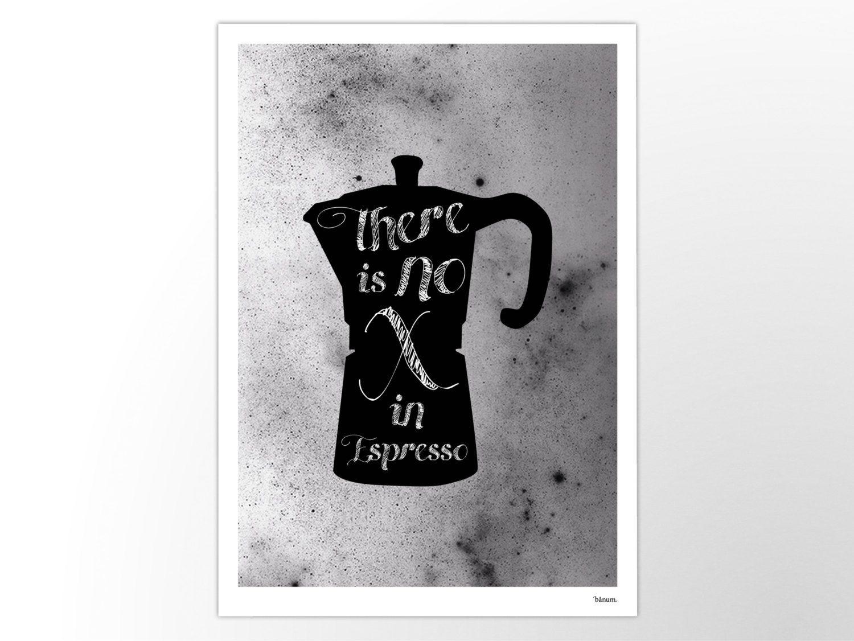 Espresso moderne poster abstrakte kunstdrucke zeitgem e wall art prints motivation - Abstrakte kunstdrucke ...