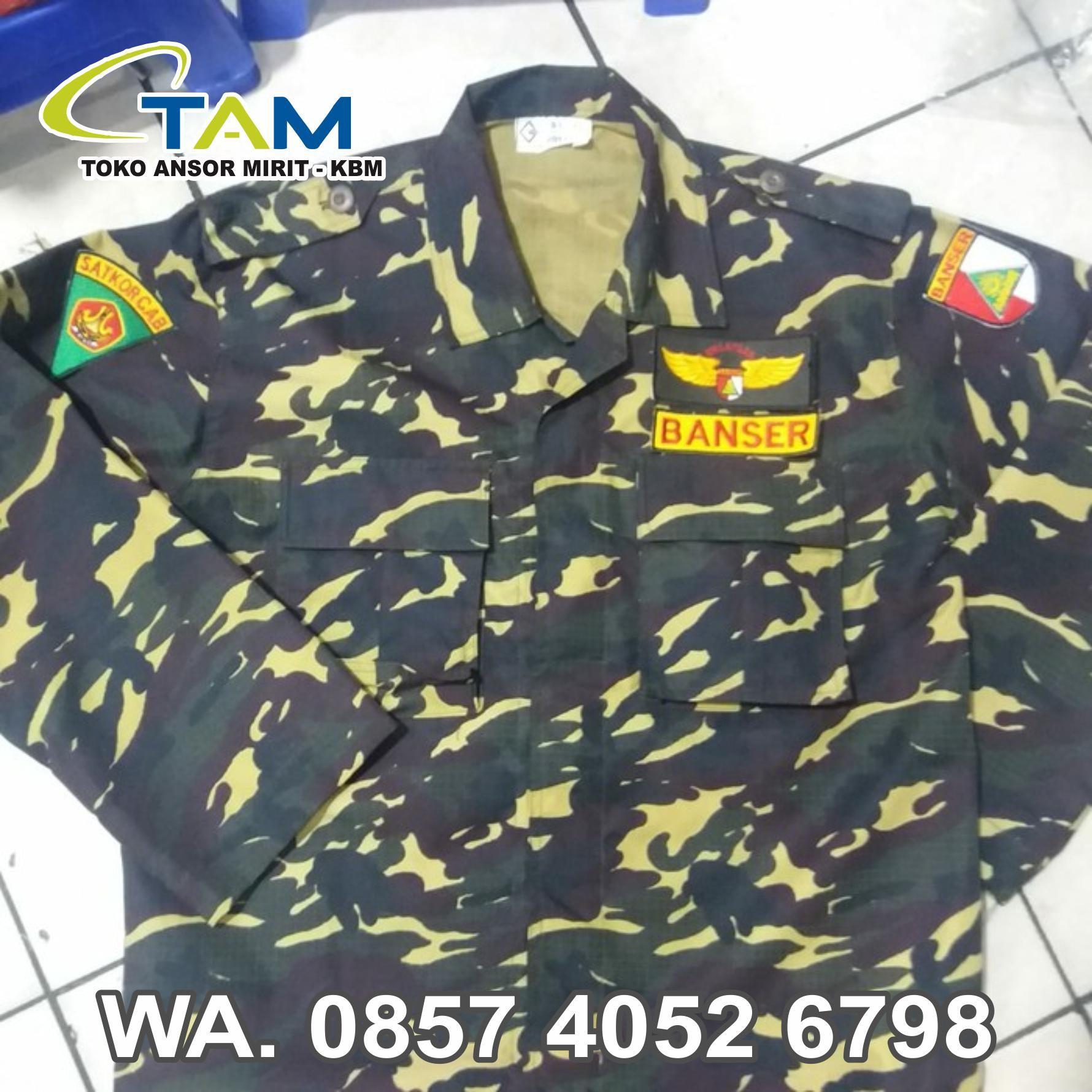 Baju Loreng Tni