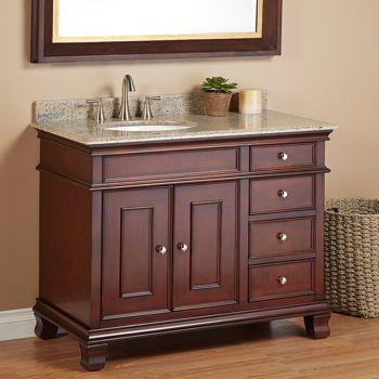 "Manhattan 42"" Single Sink Vanity By Mission Hills® My new ..."