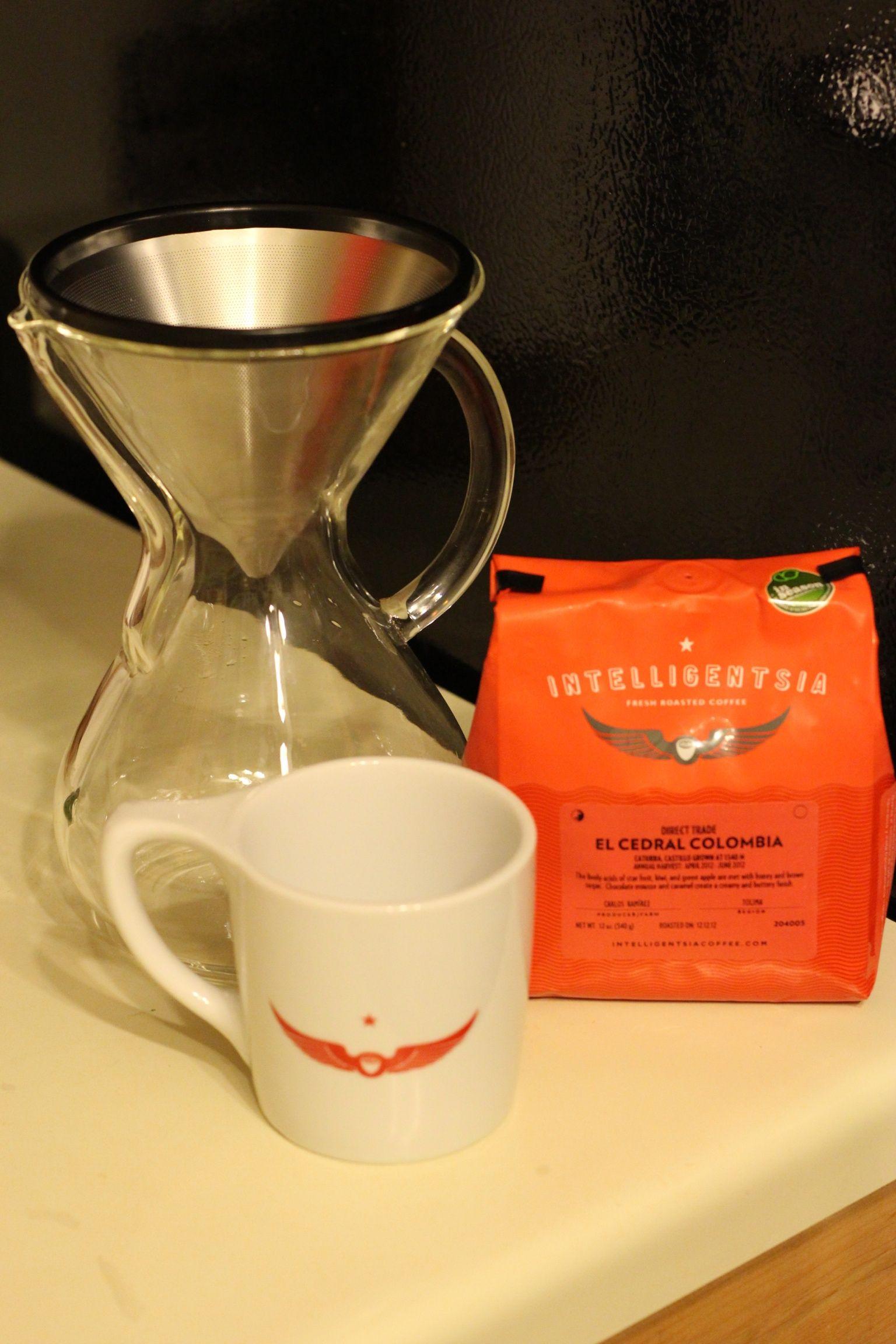 Intelligentsia and chemex coffee crafts coffee love
