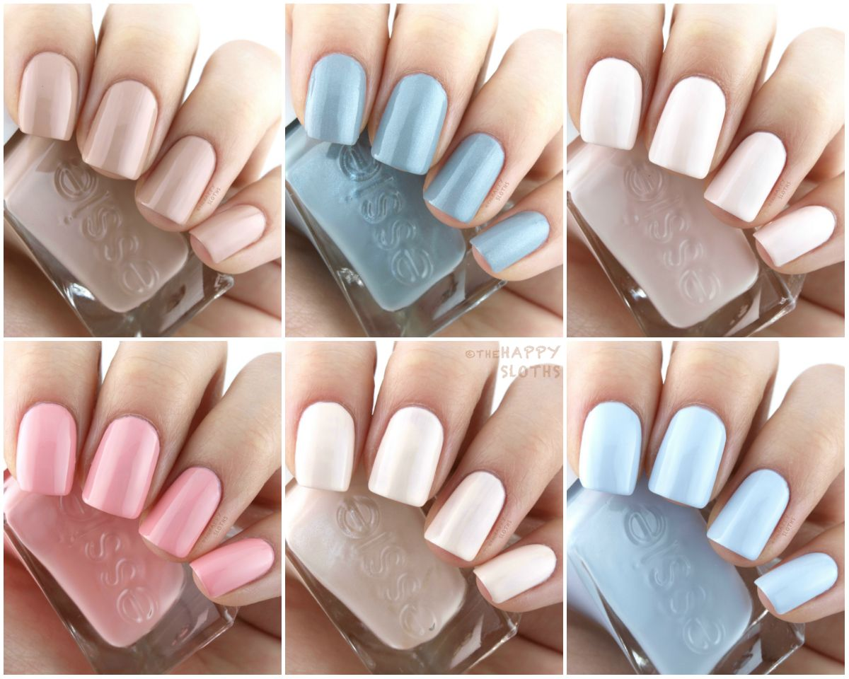 Essie Gel Couture Spring 2017 Ballet Nudes Collection: Review and ...