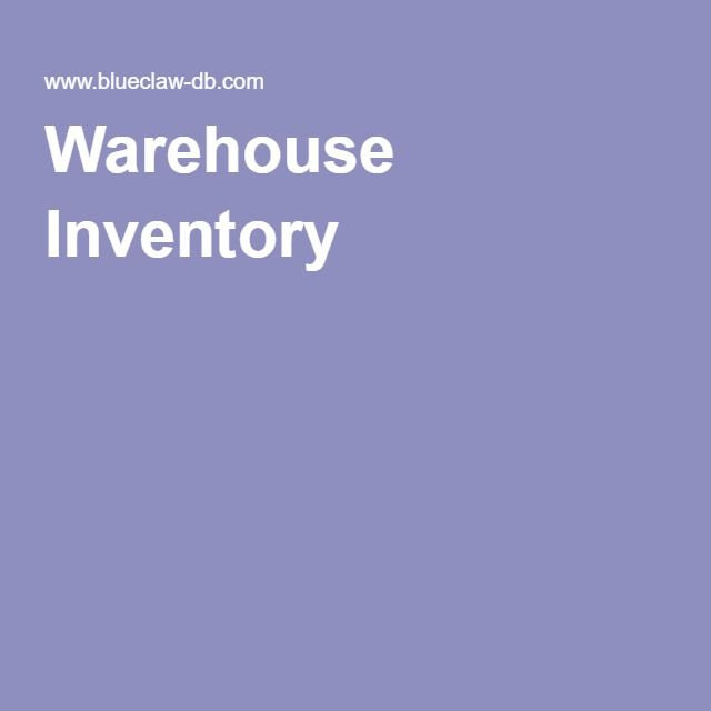 Warehouse Inventory Inventory Management Templates Inventory Management Software Inventory